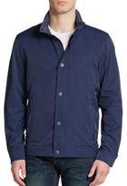 Robert Graham Hooded Woven Shirt-Jacket