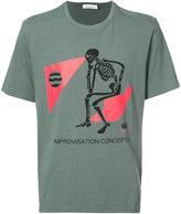 Undercover skeleton print T-shirt - men - Cotton - 3