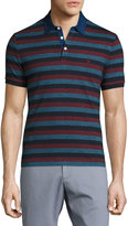 Original Penguin Striped Cotton Polo Shirt