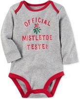 Carter's Official Mistletoe Tester Cotton Bodysuit, Baby Boys and Girls (0-24 months)