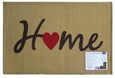 JVL Welcome Home Indoor machine Washable Door Mat, 40 x 60 cm - Beige, Multi/colour