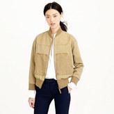 J.Crew Khaki utility jacket