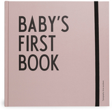 Design Letters Kids' Collection Baby's First Book Pink