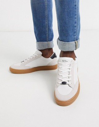 Paul Smith Troy sneakers with rubber sole in white