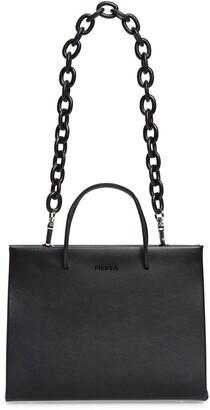 Medea Hanna Chain Strap Leather Tote