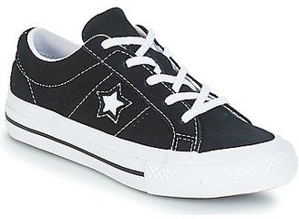 Converse ONE STAR OX girls's Shoes (Trainers) in Black
