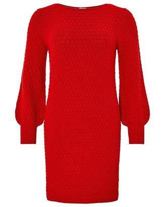 Monsoon Sandie Stitch Detail Dress