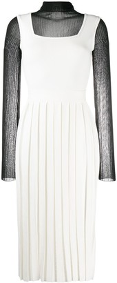 Ports 1961 Combined Pleated Dress