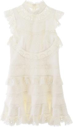 Zimmermann Peggy Lace Mini Dress