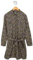 Bonpoint Floral Print Shirtdress