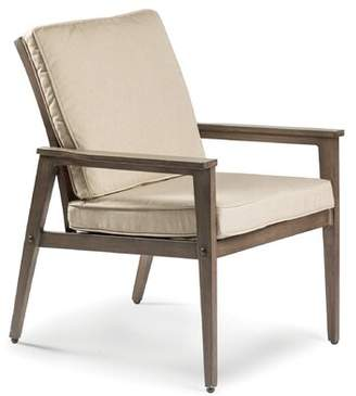 Eddie Bauer Horizon Patio Dining Chair with Cushion Cushion Color: Canvas Natural