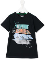 Armani Junior zebra print T-shirt
