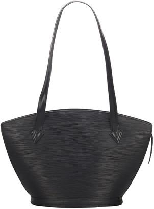 Louis Vuitton Noir Epi Leather Saint Jacques Long Strap PM Bag