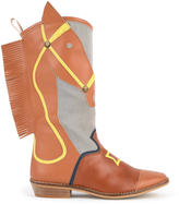 Stella McCartney Imitation leather cowboy boots