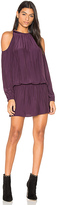 Ramy Brook Lauren Cold Shoulder Dress