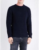 Belstaff Elbow-patch Wool-blend Jumper