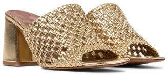 Souliers Martinez Exclusive to Mytheresa Elda 75 leather sandals