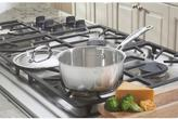 Cuisinart Chef's Classic 1 Qt. Saucepan with Cover in Stainless