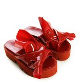 N°21 N° 21 Loves Kartell Red Knot Sandals