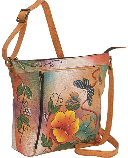 Anuschka ANNA by Medium Travel Organizer - Wild Flower