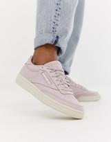 Reebok Club C sneakers in pink