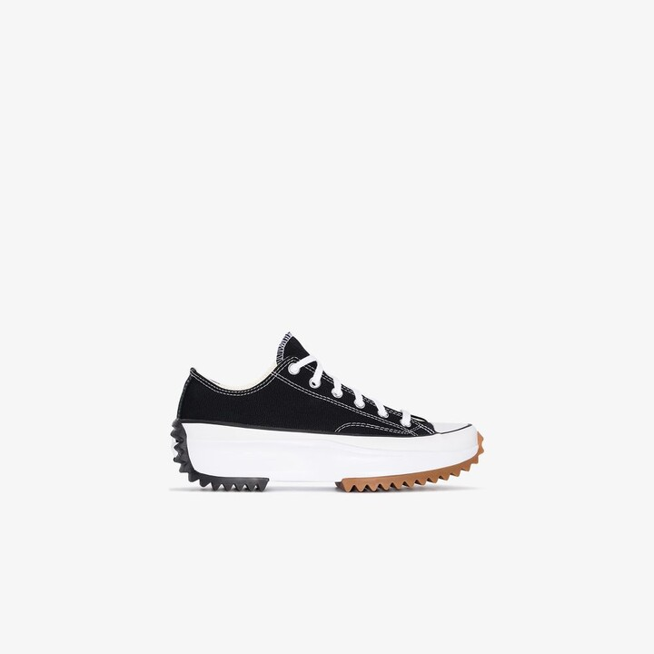 Thumbnail for your product : Converse Black Run Star Hike Low Top Sneakers
