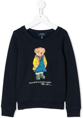 Ralph Lauren Kids Bear Print Sweatshirt