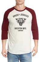 Brixton Men's Rydell Baseball T-Shirt