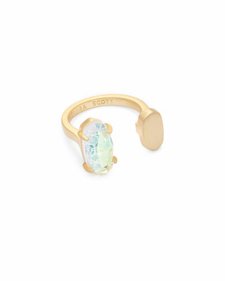 Kendra Scott Pryde Open Ring in Dichroic Glass