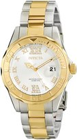 Invicta Women's 12852 Pro Diver Dial Two Tone Watch with Crystal Accents