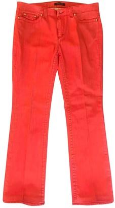 Roberto Cavalli Orange Cotton - elasthane Jeans for Women