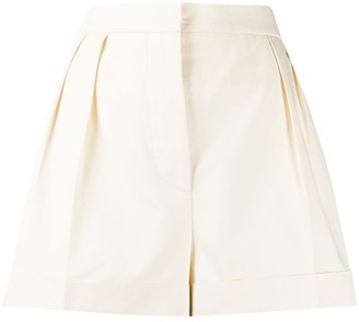 Marni High-Waisted Pleated Shorts