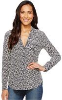 Equipment Keira Q2968-E313 Women's Long Sleeve Button Up