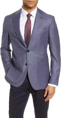 Ted Baker Kyle Trim Fit Solid Wool Sport Coat