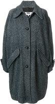 MM6 MAISON MARGIELA oversized chevron knit coat