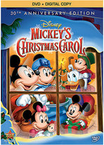 Disney Mickey's Christmas Carol 30th Anniversary Edition DVD
