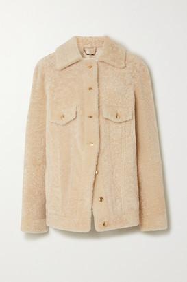 Chloé Shearling Jacket - Ivory