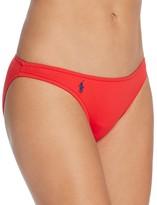 Polo Ralph Lauren Solid Taylor Hipster Bikini Bottom