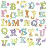 Dena RoomMates Wall Decals - Animal Alphabet