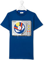 Fendi DJ-Set print T-shirt