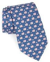 Vineyard Vines Men's Flag Print Tie