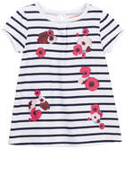 Joe Fresh Stripe Dress (Baby Girls)