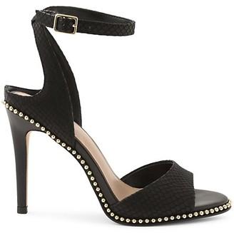 BCBGeneration Jaxina Leather Stiletto Sandals