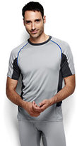 Classic Men's Thermaskin Active Short Sleeve Crew-Desert Brick/Chestnut Brown