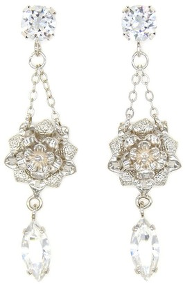 Rosaspina Firenze Crystal Petite Flower Earrings