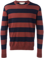 Marni striped sweater - men - Cotton - 52