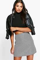 boohoo Florence Gingham Woven Mini Skirt