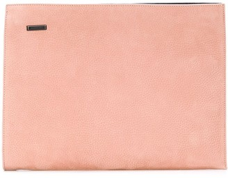 Zanellato large zipped clutch bag