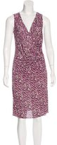 Christian Dior Sleeveless Printed Dress