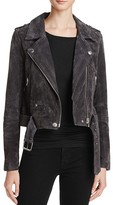Blank NYC BLANKNYC Suede Moto Jacket - 100% Bloomingdale's Exclusive